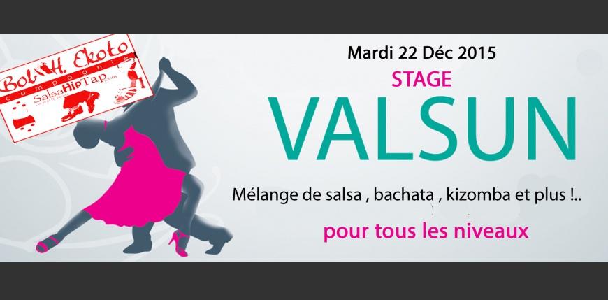Dernier stage Valsun de l'année 2015 , mardi 22 déc