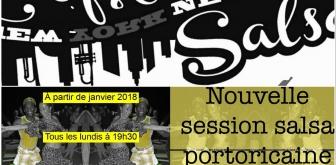 Nouvelle session Salsa débutante en Janvier 2018