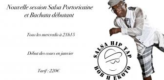 Nouvelle session Salsa Porto et Bachata débutante