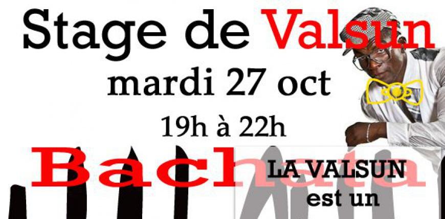 Venez découvrire la nouvelle danse la Valsun mardi 27 Oct