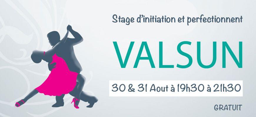 Stage de Valsun  GRATUIT